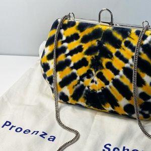 Proenza Schouler Tie-Dye Velvet Crossbody Bag